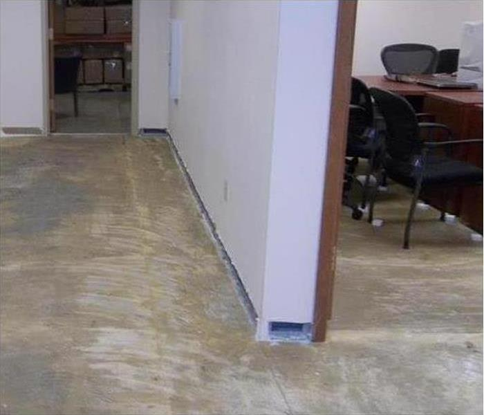 Commercial Water Damage – San Francisco Office Building After