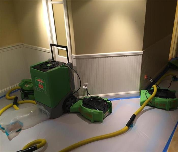 Water Damage WOW!! Swift Water Removal in San Francisco from Trained SERVPRO Technicians