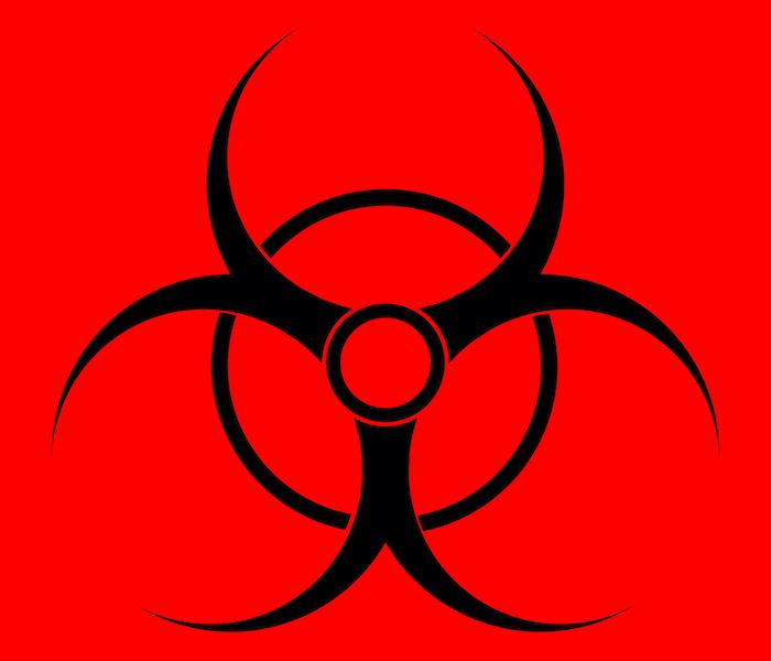 Infectious waste symbol